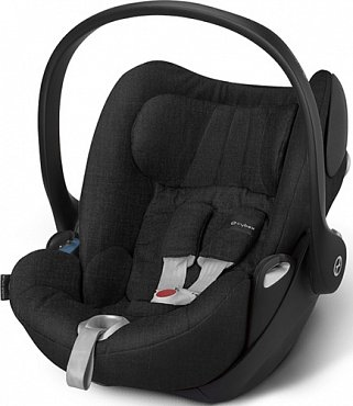 Автокресло Cybex Cloud Q Plus 0-13кг Black beauty