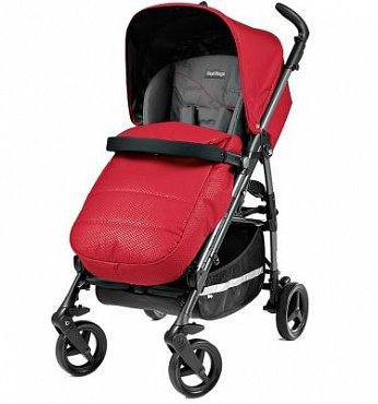Коляска прогулочная Peg Perego Si completo bloom red